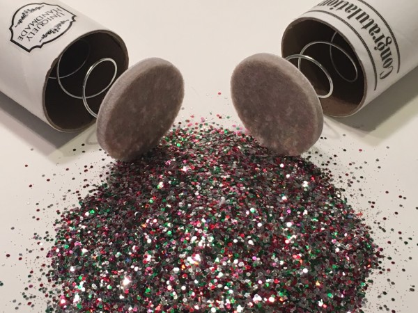 Spring-loaded glitter bomb April Fools Day Prank